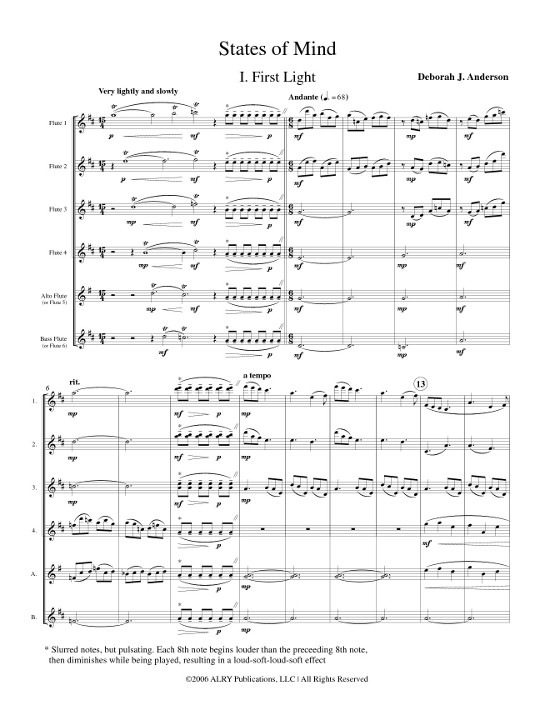 Score - Movement 1