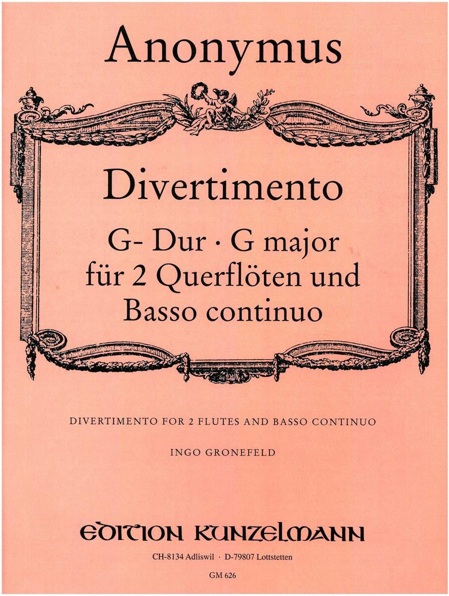 Anonymous :: Divertimento G-Dur [in G Major]