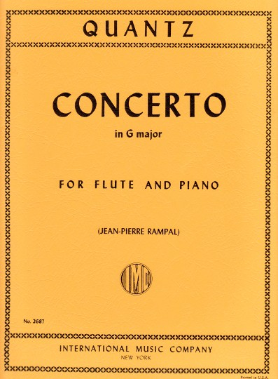 Quantz, JJ :: Concerto in G major