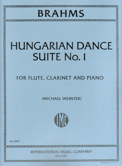 Brahms, J :: Hungarian Dance Suite No. 1