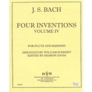Bach, JS :: Four Inventions Volume IV