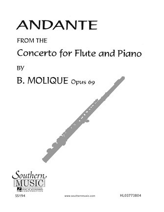 Molique, B :: Andante (from the Concerto for Flute, op. 69)