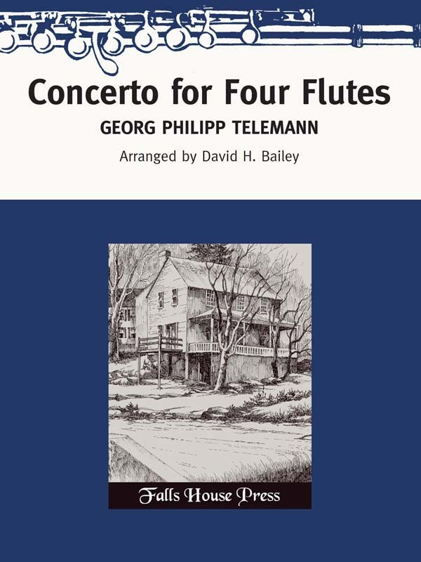 Telemann, GP :: Concerto for Four Flutes
