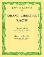 Bach, JC :: Quintett D-Dur [Quintet in D Major]
