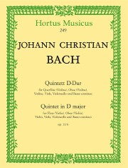 Bach, JC :: Quintett D-Dur [Quintet in D major] op. 11/6