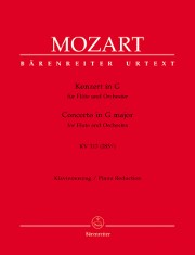 Mozart, WA :: Konzert in G  [Concerto in G major] KV 313 (285c)