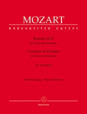 Mozart, WA :: Konzert in D [Concerto in D major] KV 314 (285d)