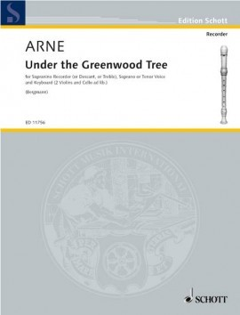 Arne, T :: Under the Greenwood Tree