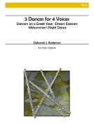 Anderson, DJ :: 3 Dances for 4 Voices