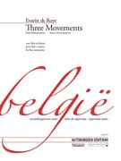 de Roye, E :: Three Movements