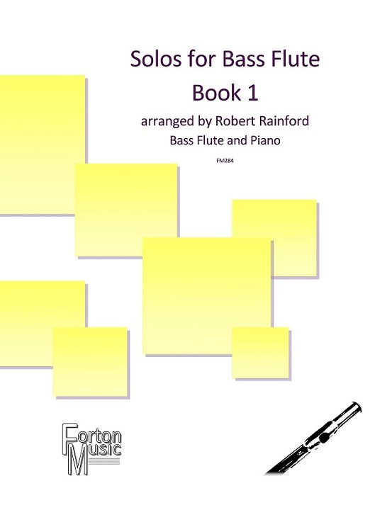 Various :: Solos for Bass Flute Book 1