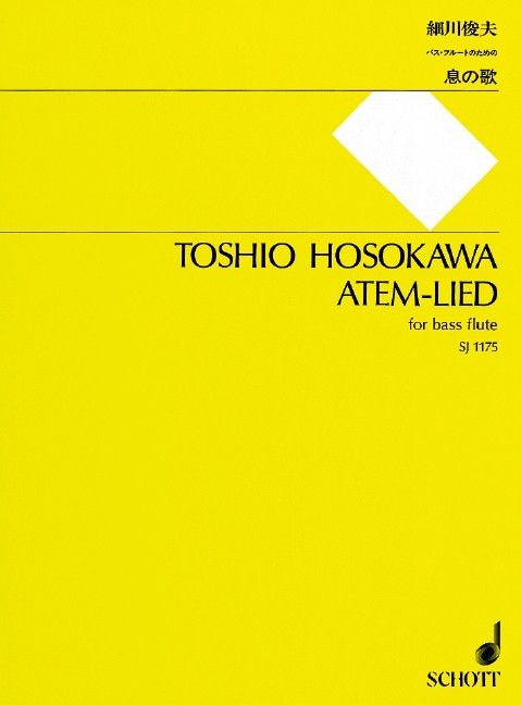 Hosokawa, T :: Atem-Lied [Breath-Song]