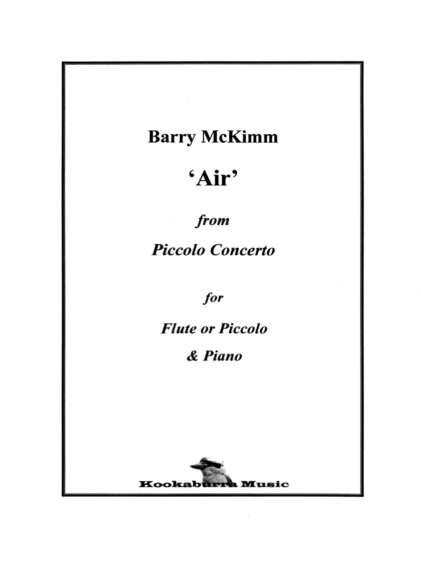 McKimm, B :: 'Air' from Piccolo Concerto