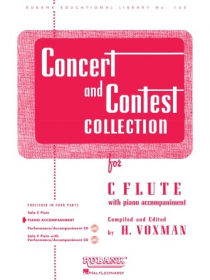 Various :: Concert and Contest Collection: Flute - Piano Accompaniment
