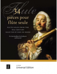 Various :: 34 pieces pour flute seule: Flute Solos from the 18th Century