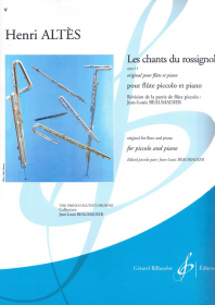 Altes, H :: Les chants du rossignol op. 11 [The Songs of the Nightingale op. 11]