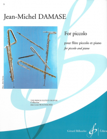 Damase, J-M :: For piccolo
