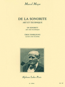 Moyse, M :: De La Sonorite [On Sonority]
