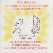 W.A. Mozart Concertos for Flute and Harp and for Basset Flute