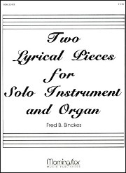 Binckes, FB :: Two Lyrical Pieces for Solo Instrument and Organ