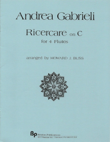 Gabrieli, A :: Ricercare on C