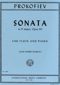 Prokofiev, S :: Sonata in D major, op. 94