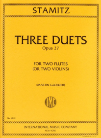 Stamitz, C :: Three Duets, op. 27
