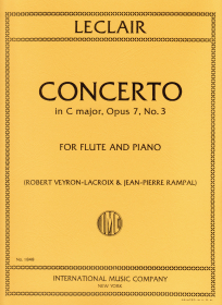 Leclair, J-M :: Concerto in C major, op. 7, No. 3