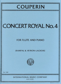 Couperin, F :: Concert Royal No. 4