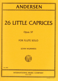 Andersen, J :: 26 Little Caprices op. 37