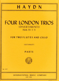 Haydn, J :: Four London Trios (Divertimenti) Hob. IV: 1-4