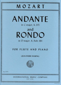 Mozart, WA :: Andante in C major, K. 315 and Rondo in D major, K. Anh. 184