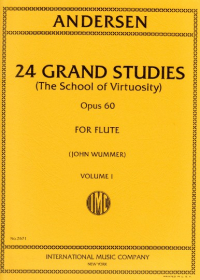 Andersen, J :: 24 Grand Studies (The School of Virtuosity) op. 60 Volume I