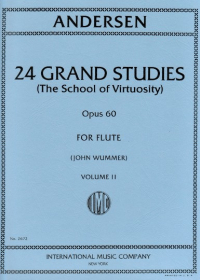 Andersen, J :: 24 Grand Studies (The School of Virtuosity) op. 60 Volume II