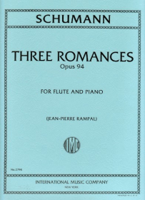 Schumann, R :: Three Romances op. 94