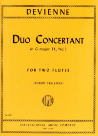 Devienne, F :: Duo Concertant in G major, IX, No. 5