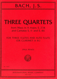 Bach, JS :: Three Quartets
