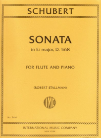 Schubert, F :: Sonata in E flat major, D. 568