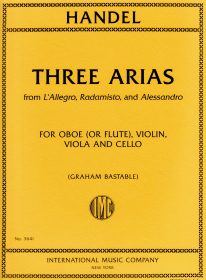 Handel, GF :: Three Arias