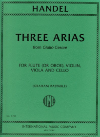 Handel, GF :: Three Arias from Giulio Cesare