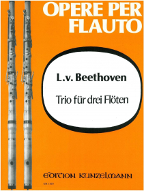 Beethoven, L :: Trio fur drei Floten [Trio for Three Flutes]