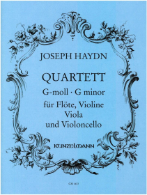 Haydn, J :: Quartett G-moll [Quartet in G minor]