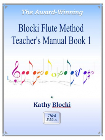 Blocki, K; Blocki, M :: Blocki Flute Method - Book 1 (Teacher's Manual)