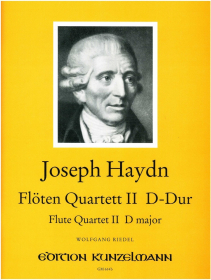 Haydn, J :: Floten Quartett II D-Dur [Flute Quartet No. 2 in D major]