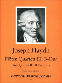 Haydn, J :: Floten Quartett III B-Dur [Flute Quartet No. 3 in B flat major]