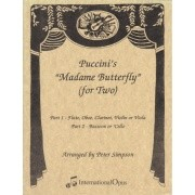 Puccini, G :: Puccini's 'Madame Butterfly' (for Two)