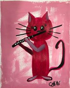 Painting - Piccolo Kitty