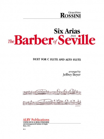 Rossini, G :: Six Arias from The Barber of Seville