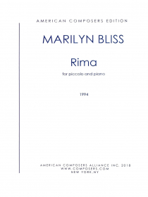 Bliss, M :: Rima