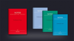 Barenreiter Notes Manuscript Pad